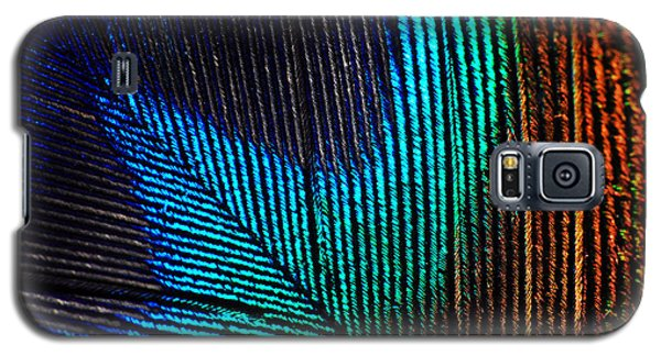 Peacock Feather Galaxy S5 Case