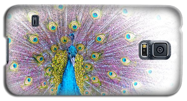 Galaxy S5 Case featuring the photograph Peacock by Holly Kempe