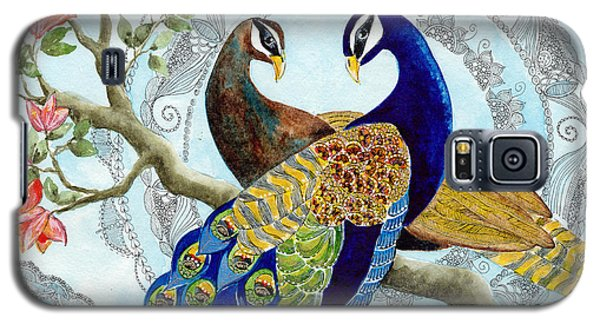 Peacock Love Galaxy S5 Case by Susy Soulies