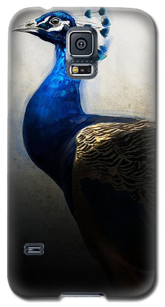Peacock Galaxy S5 Case - Peacock Portrait by Aaron Blaise