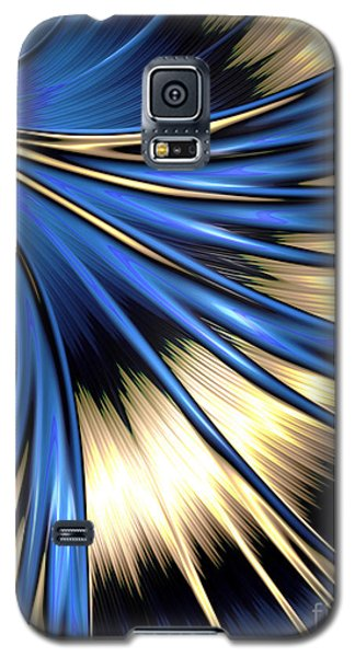 Peacock Tail Feather Galaxy S5 Case