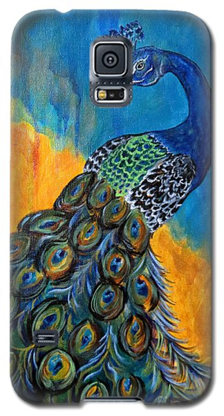 Peacock Waltz #3 Galaxy S5 Case