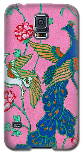 Peacocks Flying Southeast Galaxy S5 Case by Xueling Zou