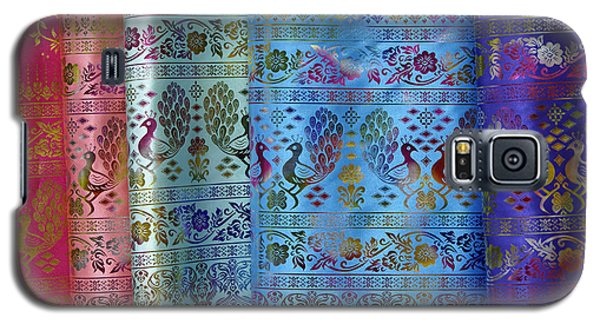 Peacocks On Silk Galaxy S5 Case