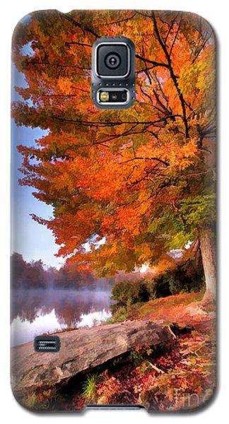 Peak Of Color - Blue Ridge Parkway Price Lake Galaxy S5 Case by Dan Carmichael