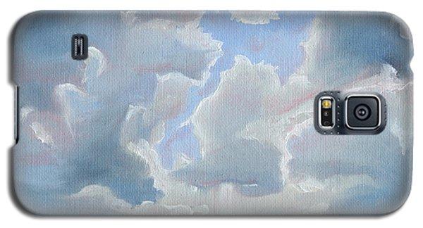 Peaking Through Galaxy S5 Case