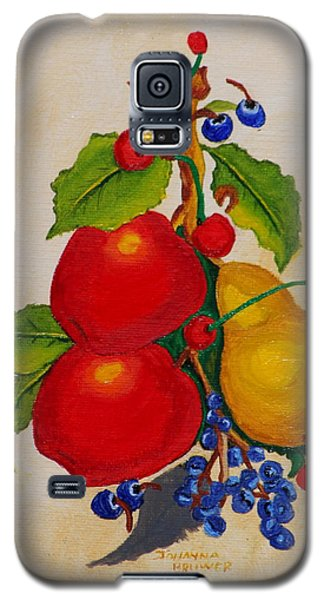 Pear And Apples Galaxy S5 Case by Johanna Bruwer