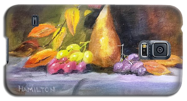 Pear And Grapes Still Life Galaxy S5 Case