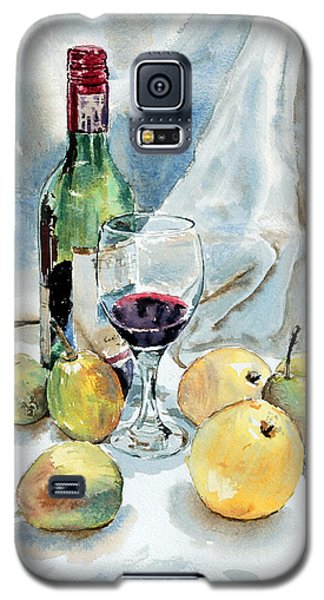 Pears And Wine Galaxy S5 Case by Joey Agbayani