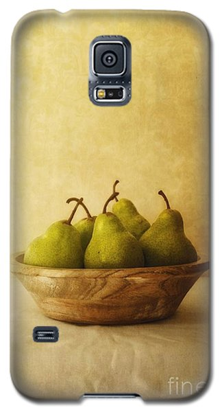Pears In A Wooden Bowl Galaxy S5 Case