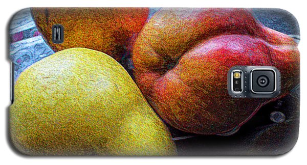 Galaxy S5 Case featuring the photograph Pears by Vladimir Kholostykh