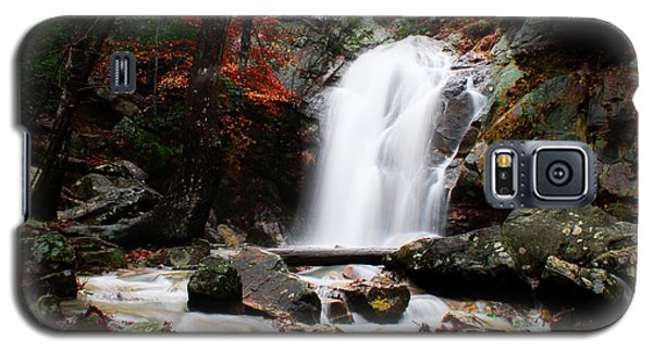 Peavine Falls In Autumn Galaxy S5 Case by Shelby  Young