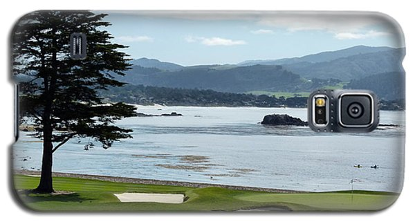 Pebble Beach 18th Green Carmel  Galaxy S5 Case