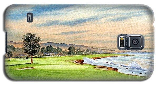 Pebble Beach Golf Course 18th Hole Galaxy S5 Case
