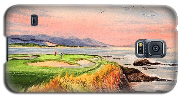 Pebble Beach Golf Course Hole 7 Galaxy S5 Case