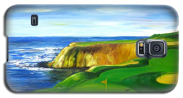Pebble Beach Golf Course Galaxy S5 Case by Sheri  Chakamian