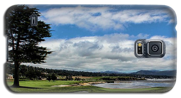 Pebble Beach - The 18th Hole Galaxy S5 Case by Judy Vincent