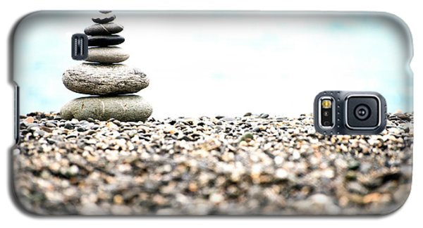 Pebble Stone On Beach Galaxy S5 Case