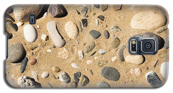 Pebbles On Beach Pattern Galaxy S5 Case