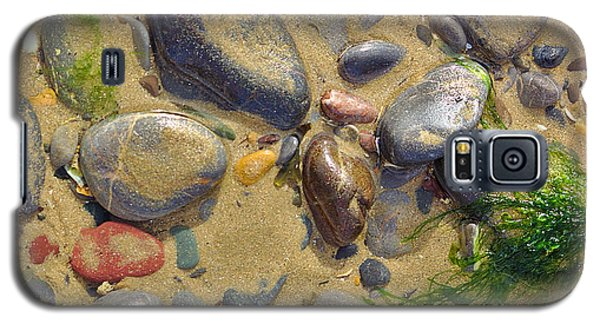 Pebbles On The Beach Galaxy S5 Case