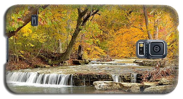 Galaxy S5 Case featuring the photograph Pedelo Falls by Deena Stoddard