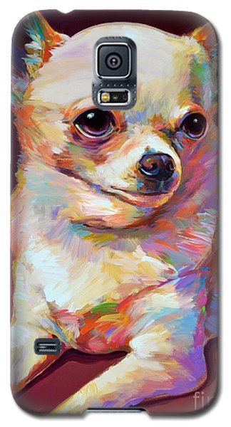 Galaxy S5 Case featuring the painting Pedro by Robert Phelps