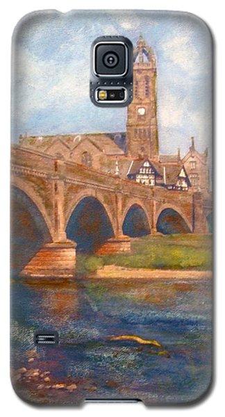 Peebles  Bridge Inn And Parish Church Galaxy S5 Case