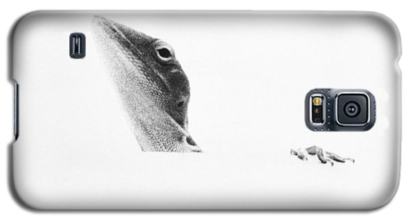Galaxy S5 Case featuring the photograph Peek-a-boo by Barbara Dudley