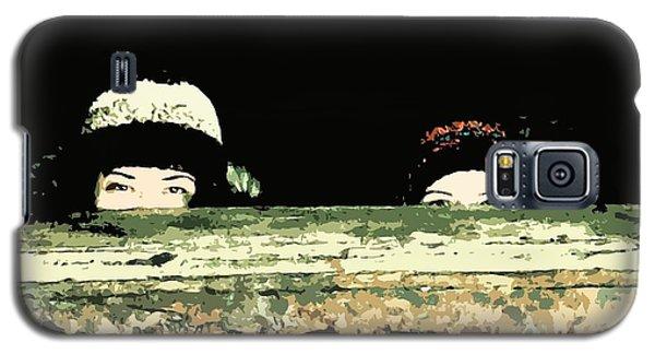 Peek-a-boo Galaxy S5 Case