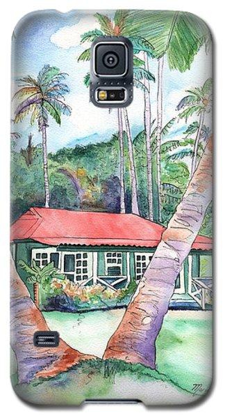 Peeking Between The Palm Trees 2 Galaxy S5 Case