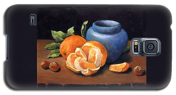 Peeled Orange Galaxy S5 Case