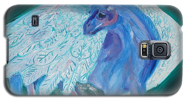 Galaxy S5 Case featuring the painting Pegasus by Cassandra Buckley