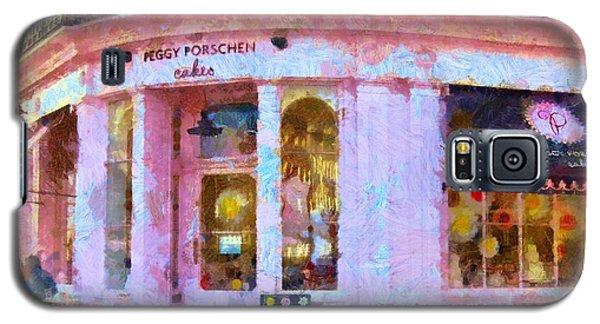 Galaxy S5 Case featuring the painting Peggy Porschen Cakes Paris by Elizabeth Coats