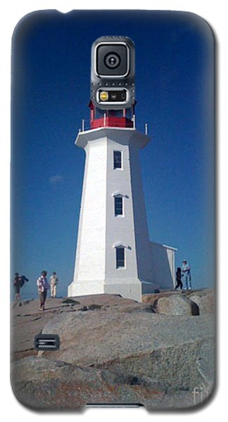 Peggy's Cove Lighthouse Galaxy S5 Case