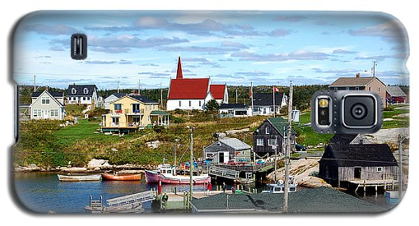 Galaxy S5 Case featuring the photograph Peggys Cove by Ron Haist
