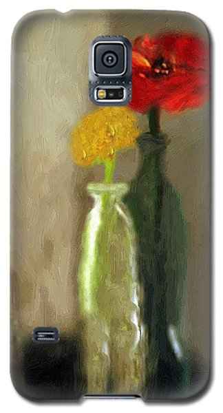 Peggy's Flowers Galaxy S5 Case