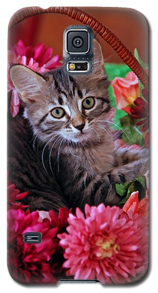 Pele In The Flowers Galaxy S5 Case by Kenny Francis