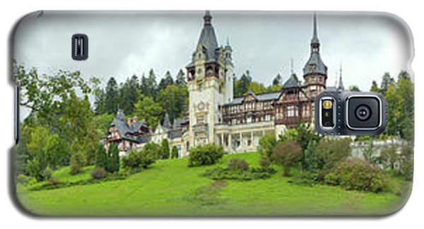 Peles Castle In The Carpathian Galaxy S5 Case by Panoramic Images