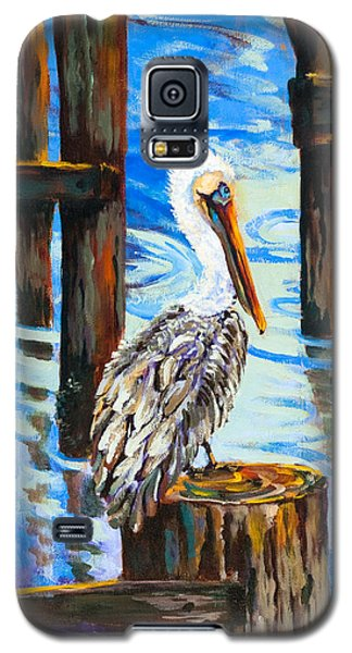 Pelican And Pilings Galaxy S5 Case