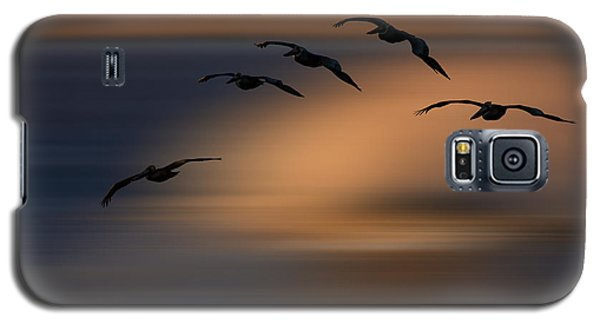 Galaxy S5 Case featuring the photograph Pelican Blur  73a2324 by David Orias