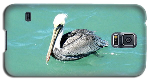Galaxy S5 Case featuring the photograph Pelican by Oksana Semenchenko