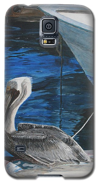 Pelican On A Boat Galaxy S5 Case by Ian Donley