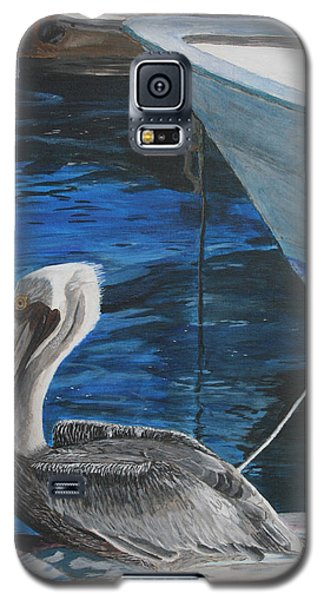Pelican On A Boat Galaxy S5 Case