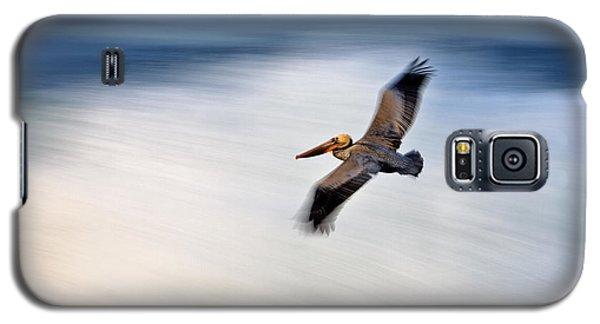 Pelican Over Wave  Mg_1212 Galaxy S5 Case