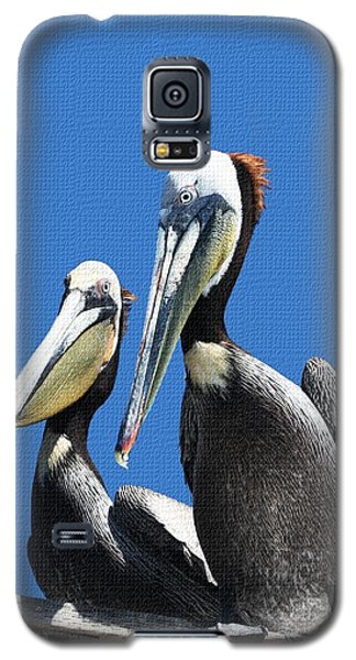 Galaxy S5 Case featuring the photograph Pelican Pair by Tom Janca