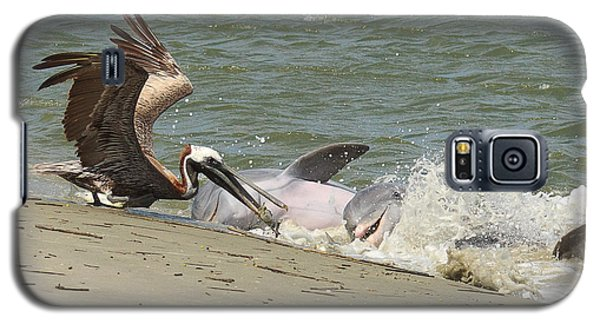 Pelican Steals The Fish Galaxy S5 Case