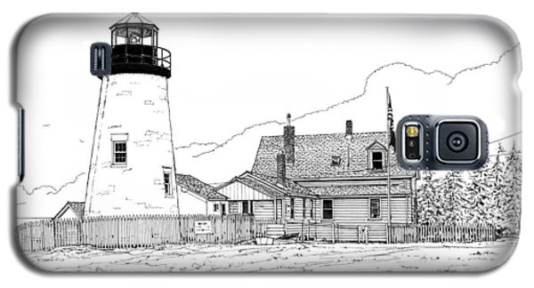 Pemaquid Point Lighthouse Galaxy S5 Case by Ira Shander