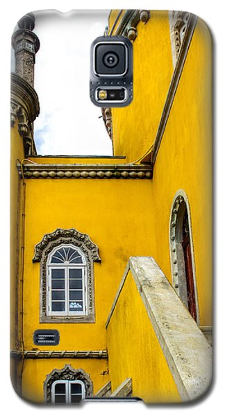 Pena Palace In Portugal Galaxy S5 Case by Marion McCristall