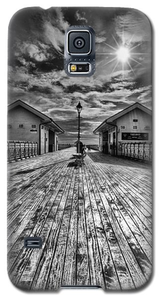 Penarth Pier 2 Monochrome Galaxy S5 Case