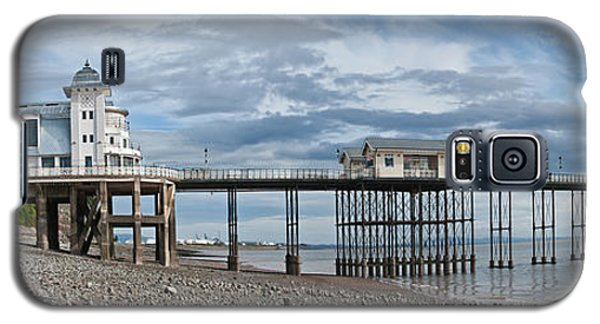 Penarth Pier Panorama 1 Galaxy S5 Case